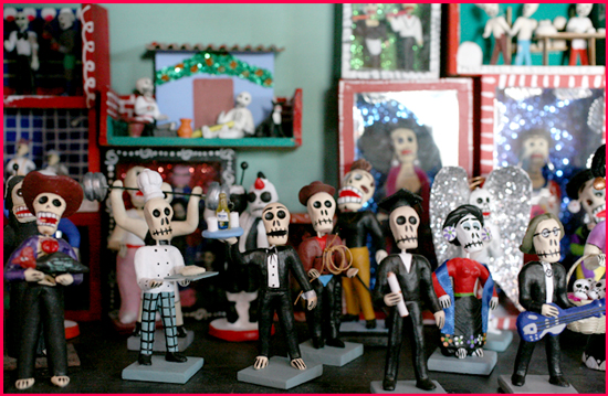 day of the dead wacky figures overview
