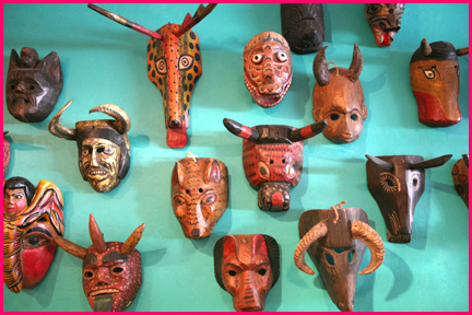 Mixed Masks from various countries