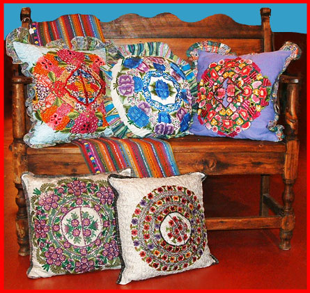 guatemalan pillows