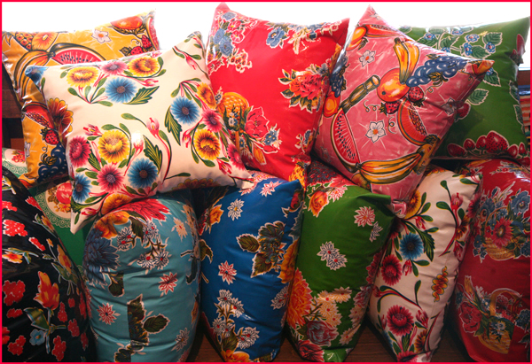 oilcloth pillows