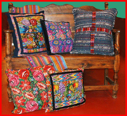 guatamalan pillows
